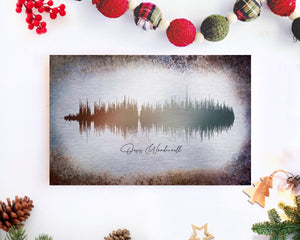 Unique Holiday Gifts, Metal Soundwave Print Art | METAL