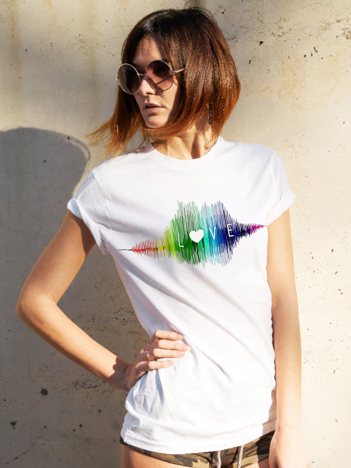 Love | Sound Wave Shirt