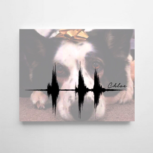 Pet Memorial, Custom Memorial for Pet on Canvas | CANVAS