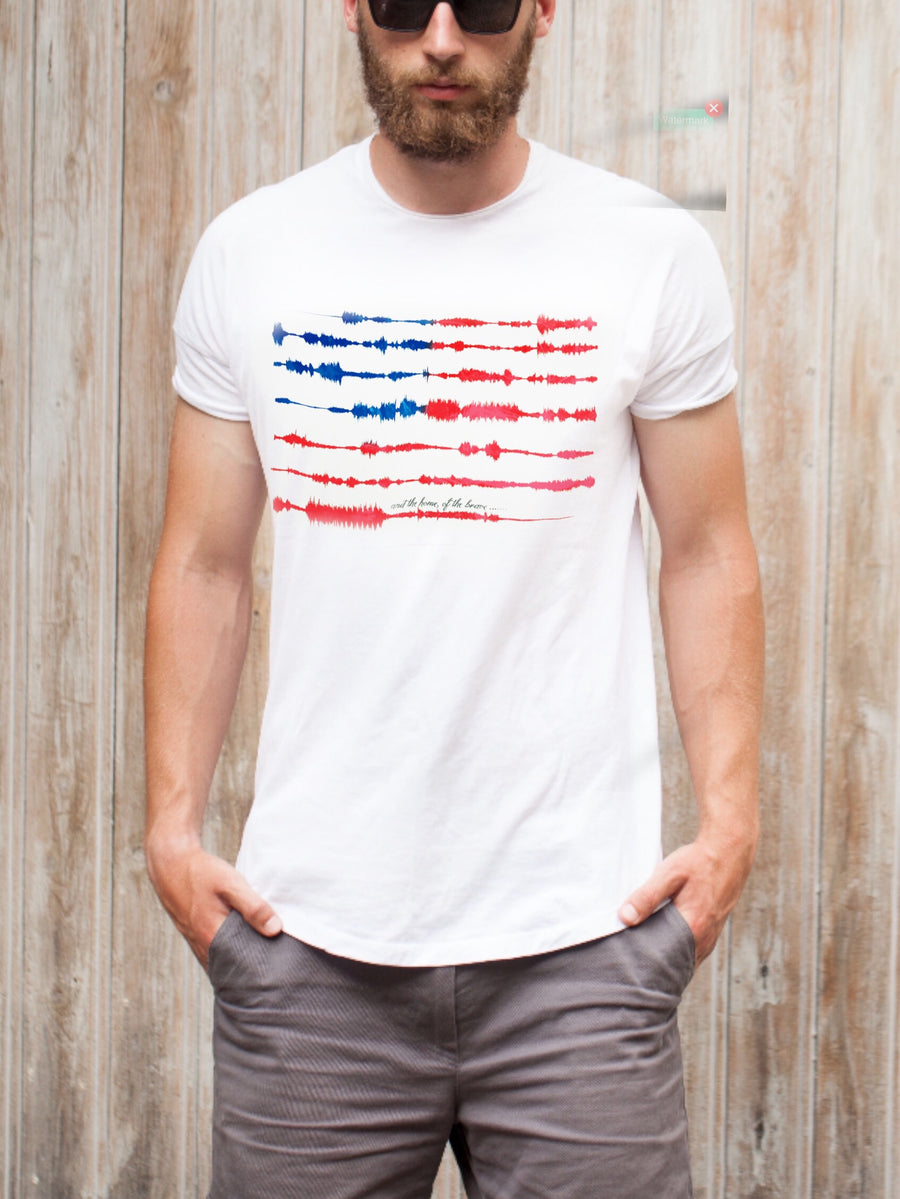 National Anthem | Sound Wave Shirt