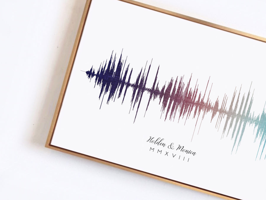 Graduation Sound Wave Print, Short Timeline Digital Print | DIGITAL