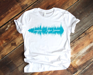 Custom Sound Wave Shirt | Sound Wave Shirt
