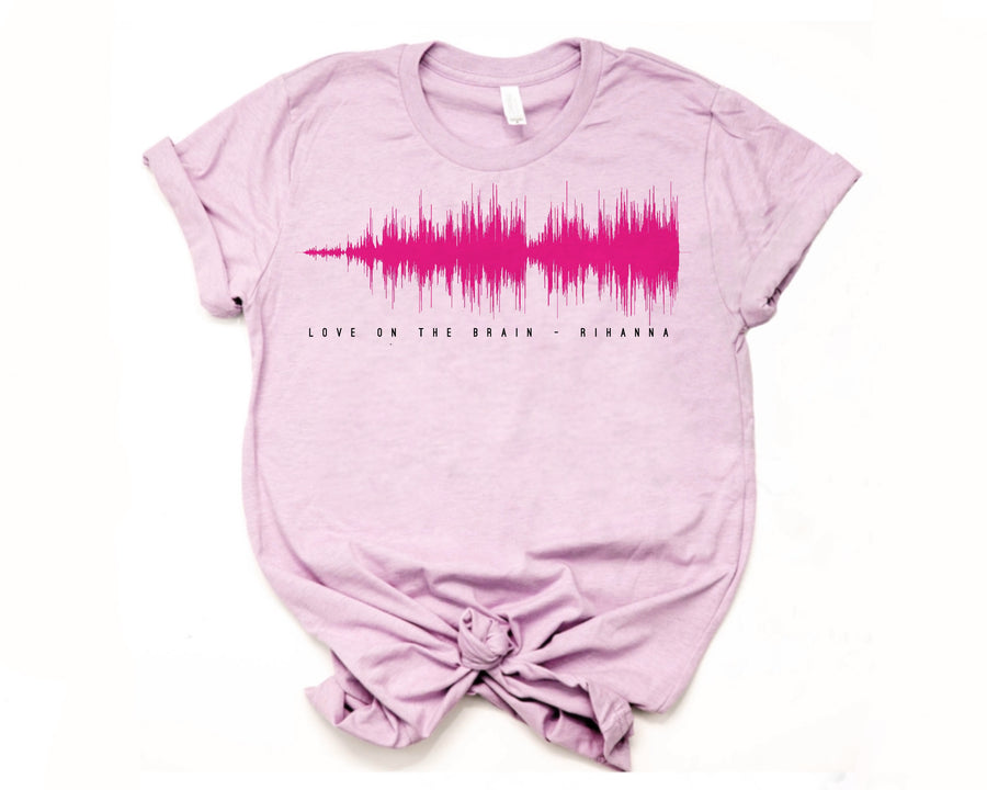Custom Soundwave Shirt | Sound Wave Shirt