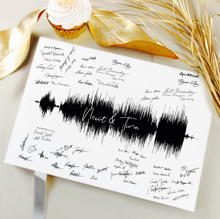 Wedding Guest Book Alternative, Signature Canvas for Weddings | CANVAS