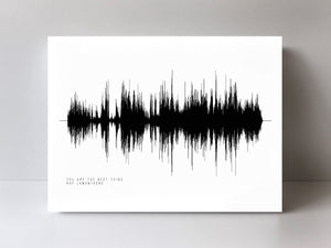 "Keith Urban ""Making Memories of Us"" Soundwave Art Print Black and White 