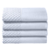 White Embellished Towel Set