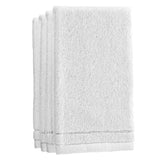 Fingertip Terry Towel - White