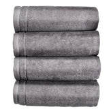 Cotton Hand towels Set of 4 - Grey