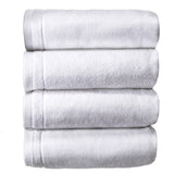 Cotton Hand towels Set of 4 - White