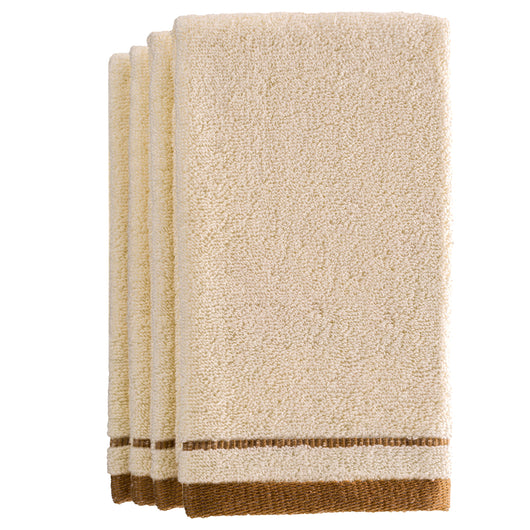 Fingertip terry towel - Ivory