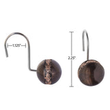 Dublin 12 Shower Curtain Hooks