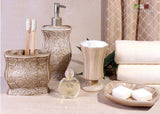 Victoria Bath Ensemble 4 Pcs Gift Set