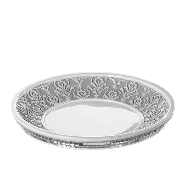 Mirror Damask Wash Cup Tray
