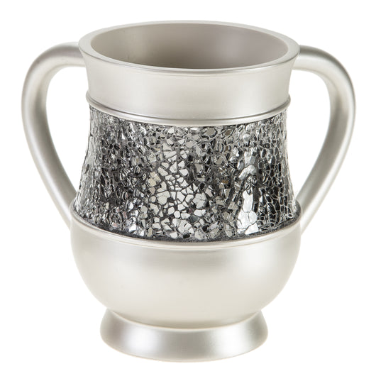 Brushed Nickel Wash Cup