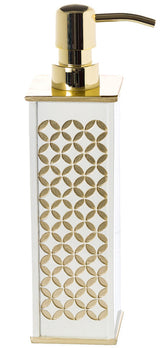 Diamond Lattice Lotion Dispenser