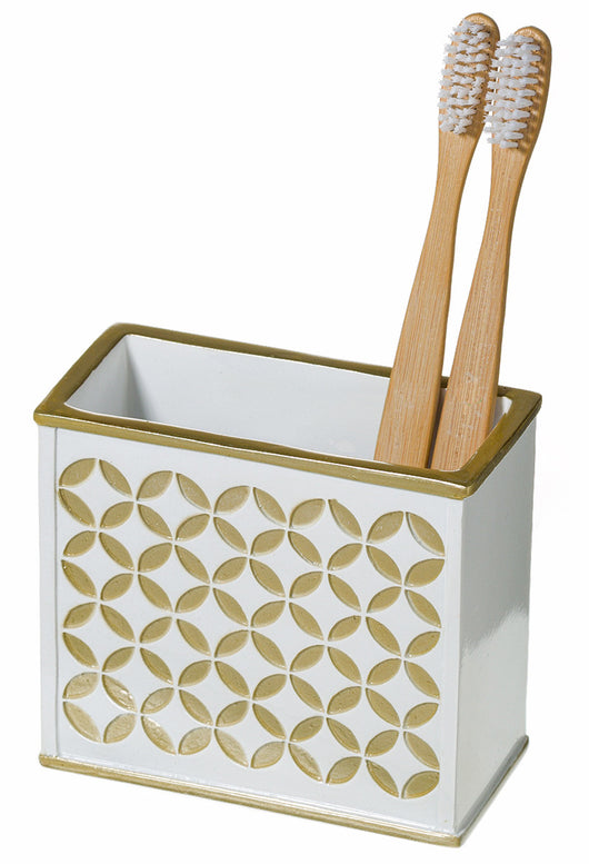 Diamond Lattice Toothbrush Holder