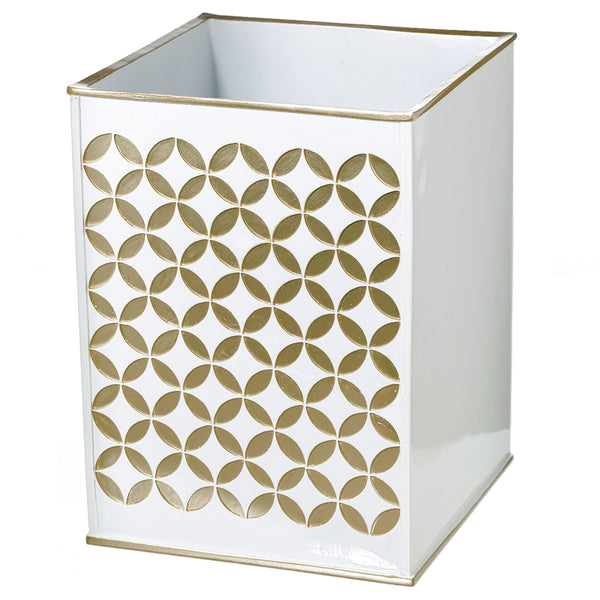 Diamond Lattice Wastebasket