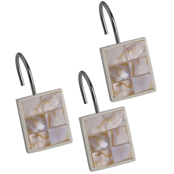 Milano Shower Curtain Hooks