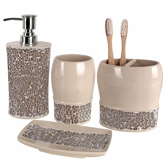 Broccostella Bath 4 Piece Gift Set