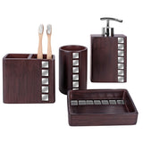 Marquee Bath Ensemble, 4 Piece Gift Set