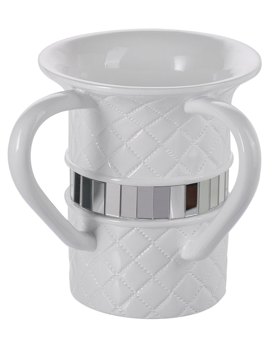 Quilted Mirror Wash cup