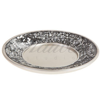 Brushed Nickel Wash Cup Tray
