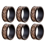 Dublin Napkin Rings pack of 6