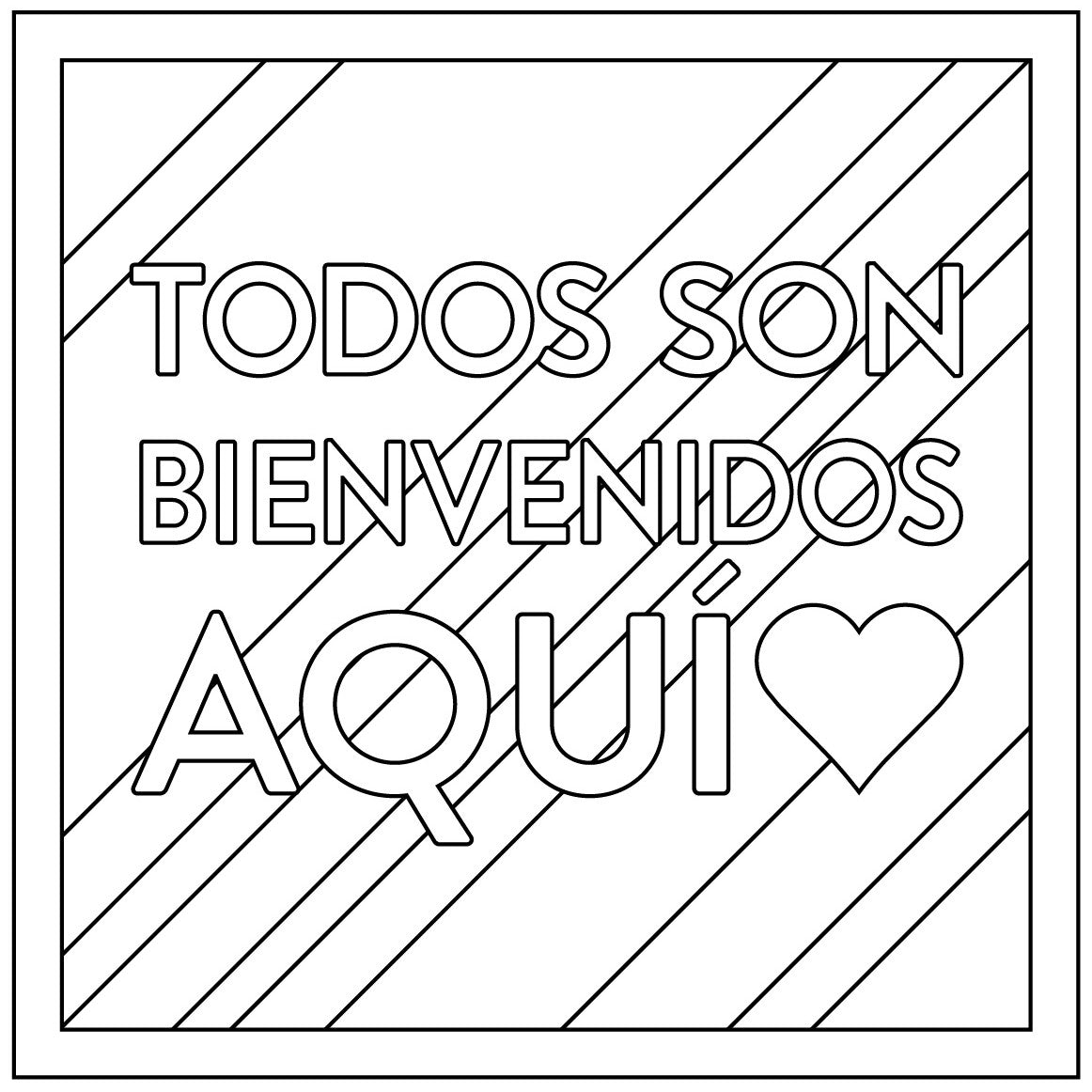 Free Download: Spanish Coloring Sheet