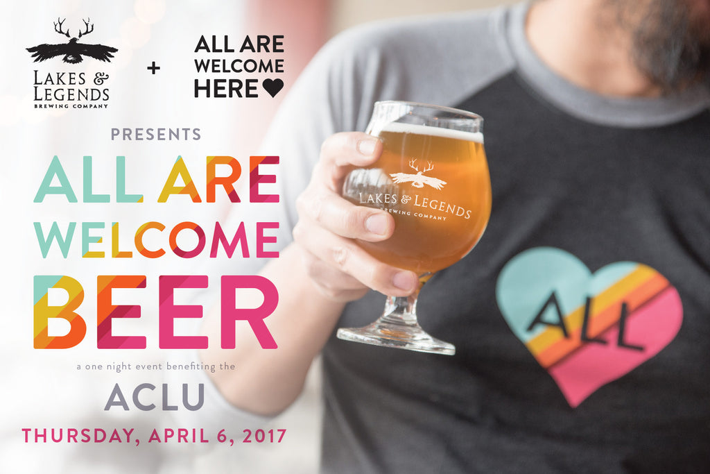 All Are Welcome Beer