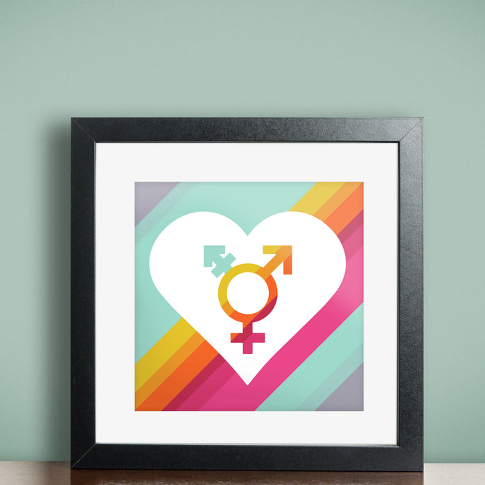 All Gender Support Print