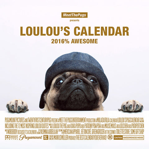 Loulou's Calendar - 2016% Awesome