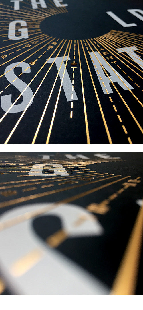 "13 — ""The Golden State Record"" poster"
