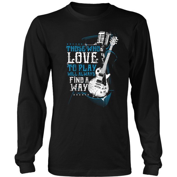 Love to Play Guitar Shirt