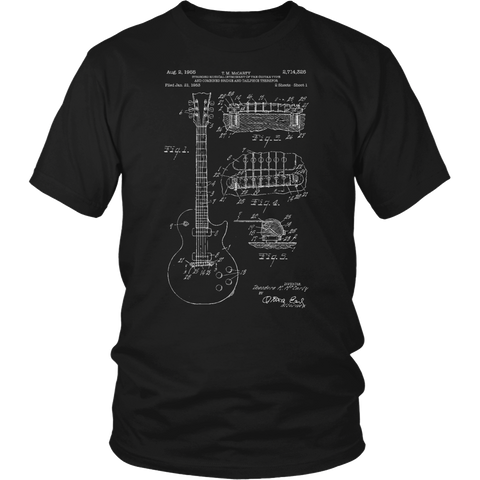 Les Paul Patent Shirt