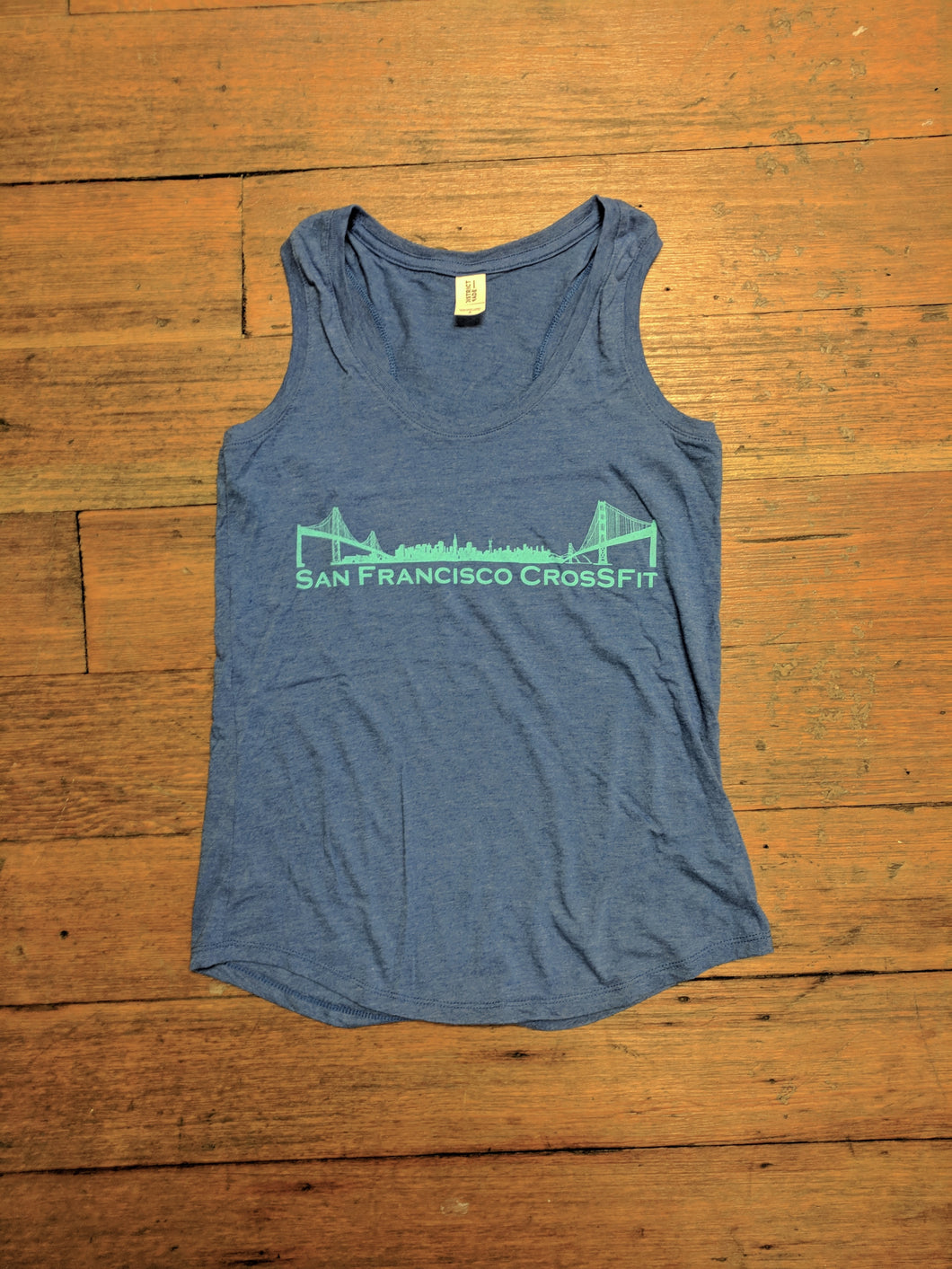 Women's Royal Blue Tank SFCF OG Logo