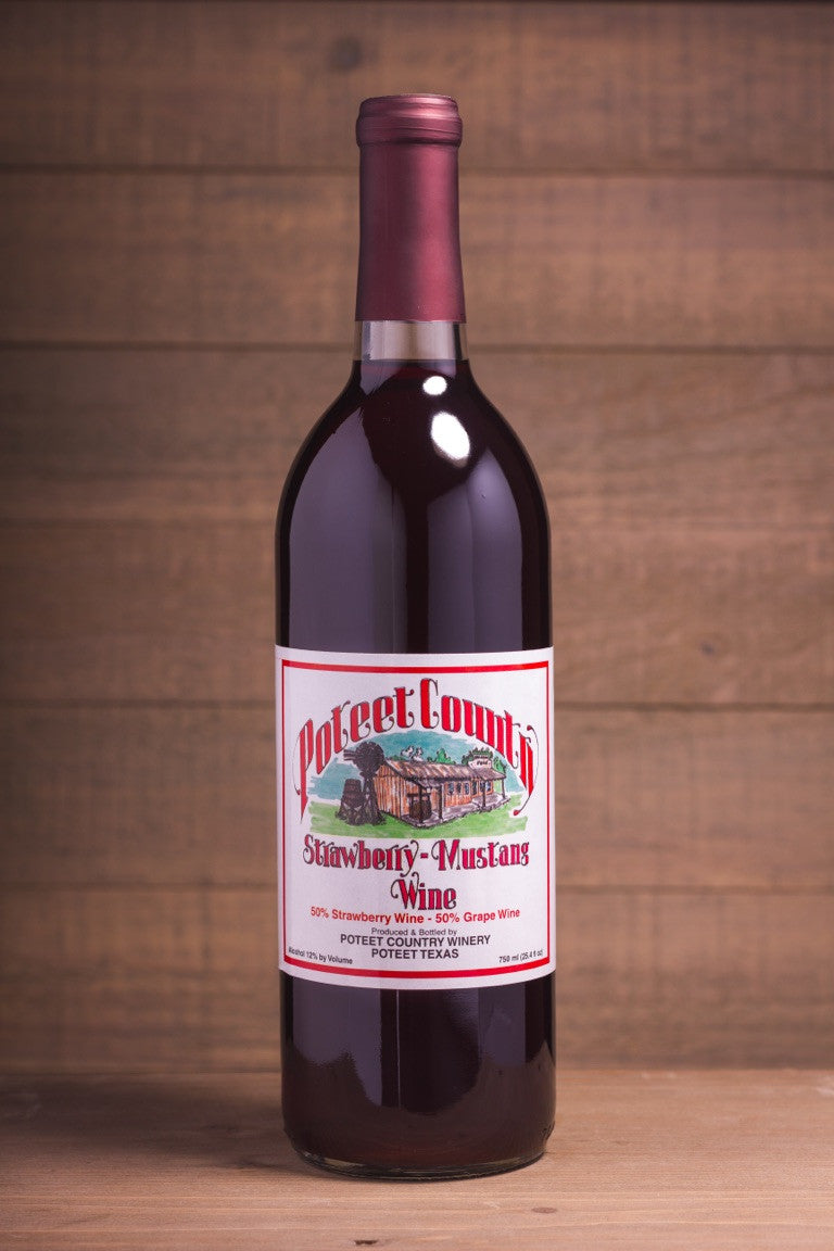 Strawberry - Mustang Wine