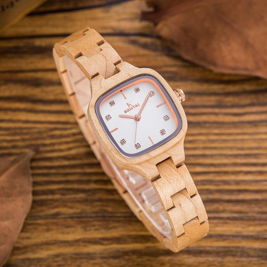Elegant and Vegan Square watch for Women - ECO-ISTS