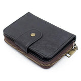 Handmade  Ladies Wallet in Black Cork - ECO-ISTS