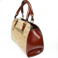 Cruelty free Cork Vegan shoulder bag - ECO-ISTS