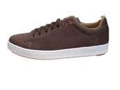 Ladies' Sneaker in Dark Brown cork. Hand crafted in Portugal for Eco-Ists. - ECO-ISTS