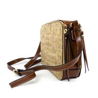 Floral or Natural Design Cross Body Cork bag - ECO-ISTS