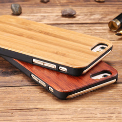Dark Brown Wooden Case for iPhone - ECO-ISTS