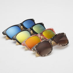 Sunglasses with Bamboo or Wooden Legs - ECO-ISTS