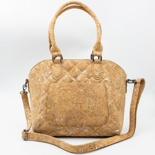 Doctor style ladies' bag : handmade cork retro handbag from Portugal - ECO-ISTS