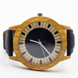 Piano Watch made from Portuguese Cork - ECO-ISTS