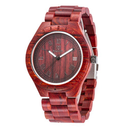 Genuine Wooden Watches in 3 different varieties, quartz, imported Japanese Interior - ECO-ISTS
