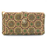 Colorful hippy style ladies wallets made from Portuguese cork - ECO-ISTS