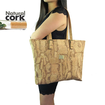 Natural Cork Totebags