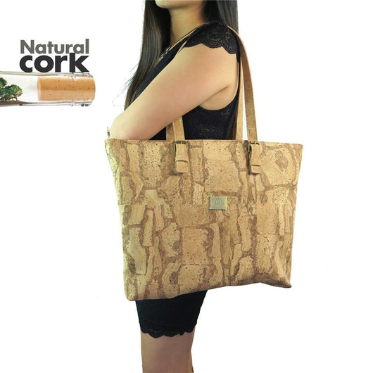 Natural Cork Totebags - ECO-ISTS