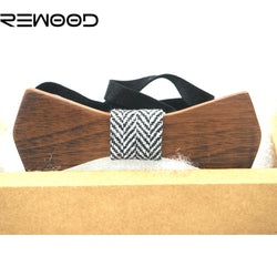 The Wedding Woody : Wooden Bow Tie for parties, wedding or just for fun